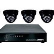 Комплект видеонаблюдения 4 внутренние камеры REXANT фото