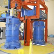 Вибропрессы для производства бетонных и ж/б труб и колец фото