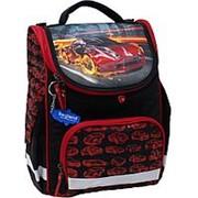 Школьный формованный рюкзак Bagland 'Успех' красный машина фото