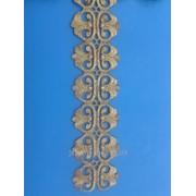 Аппликация термоклеевая люрекс метражем 1уп - 4м 2656 фото