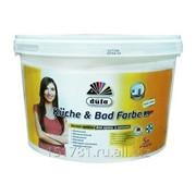 Краска водно-дисперсионная Dufa Kuche & Bad Farbe база 1 5л фото