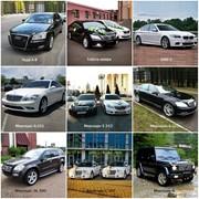 Аренда автомобилей на свадьбу фото