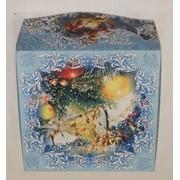 Коробка для торта картонная 25*25*13см
