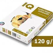 Бумага iq selection,A4, 120 г/м2, белизна 167% cie, 500 листов IQSS120 фото