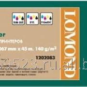 Матовая бумага Lomond 1067мм X 30м * 50 Ролик для плот. 140г (1202083) фото