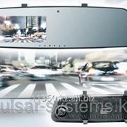 Зеркало заднего вида с регистратором универсальное incar vdr-u05 фото