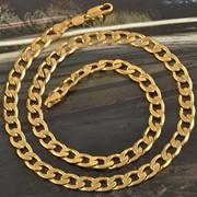 Мужская цепочка Gold Filled фото