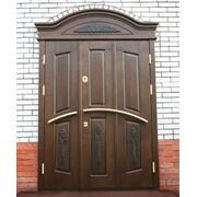 Входные двери с художественной резьбой 22 фото