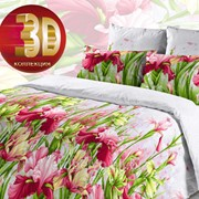 Комплект постельного белья 1.5 СПАЛЬНЫЙ БЯЗЬ B 09 фото