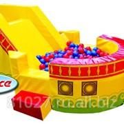 Детский игровой модуль Кораблик с шариками макси, артикул 21004 фото