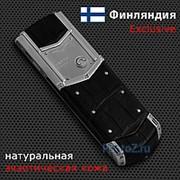 Телефон Vertu Signature S Design Stainless Steel Alligator фото