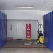 Промышленные шторы занавесы фото