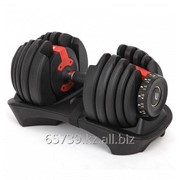Регулируемая гантель Optima Fitness 24 кг фото