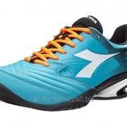 Теннисные кроссовки Diadora Speed Star K VII Blue/Orange фото
