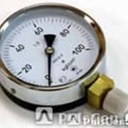 Манометр технический (общетехнический) МП3-Уф с осевым штуцером от 0 до -16 фото