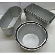Форма алюминиевая литая для выпечки хлеба по ГОСТ 17327-95 Форма круглая ОК-2 2,0 фото