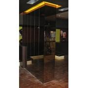 Оформление стен зеркалами фото
