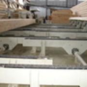 Околостаночное оборудование для производства клееного бруса. фото