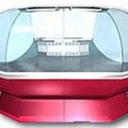 Угловая (внешняя) среднетемпературная витрина фото