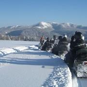 Снегоходный тур фото