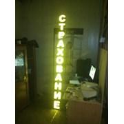 Буквы объёмные световые фото