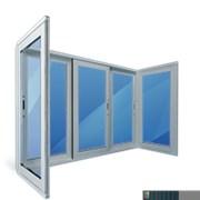 Алюминиевый балкон фото