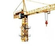 Монтаж башенных кранов фото