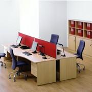 Корпусная офисная мебель для персонала серии Плюс фото