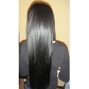 Наращивание волос на дому фото