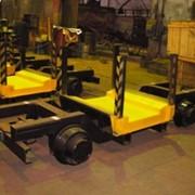 Вагонетка для перевозки тюбингов ВТ-3 (тюбинговоз) фото