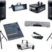 Оборудование музыкальное фото