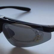 Очки баллистические стрелковые 3 линзы фото