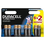Батарейка Duracell Turbo AA 2 шт 1,5 v фото
