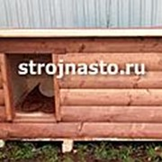 Будка собачья №8 (Размер 1.8-0.9-0.9 м) Утеплённая фото