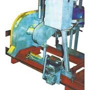 Пилорама ленточная с электроприводом АМ-163-04 фото