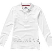 Рубашка поло Point женская с длинным рукавом фото