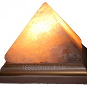 Соляная лампа(пирамида). фото