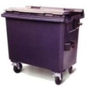 4-х колесные контейнеры для мусора. фото