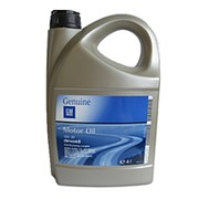 GENERAL MOTORS GM Gasoline SAE 5W30 масло моторное синт. 3,8л фото