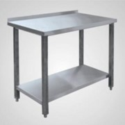 Стол производственный пристенный СПРП 6-2 (все нерж.сталь) фото
