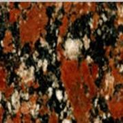 Слябы гранитные ROSSO SANTIAGO Капустянское месторождение фото