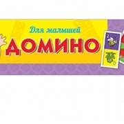 """Домино пластиковое в пласт.футляре """"Для малышей"""", (Рыжий кот) фото"""