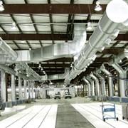 Промышленная вентиляция и кондиционирование фото