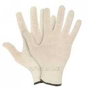 Перчатки х/б без ПВХ, 7,5 класс, 36гр, арт. 0037Р (белые), арт. 5359 фото