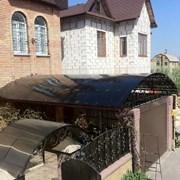 Поликарбонат и комплектующие в Донецке. Навесы. фото