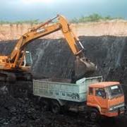 Добыча каменного угля открытым способом фото