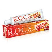ROCS зубная паста энерджи с таурином комплексная защита 16+ (74 гр) фото