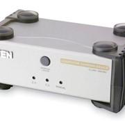 KVM-переключатель Aten CS231C устройство доступа 2-х пользователей к одному ПК фото