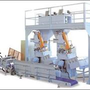 Оборудование упаковочное, Оборудование для упаковки, Упаковочное оборудование для сыпучих продуктов, Автоматические машины для фасовки муки в пакеты. фото