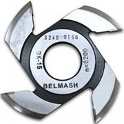 Фреза радиусная для фрезерования полуштапов BELMASH 125х32х9мм (правая) фото